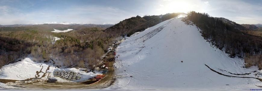 La Molivişu se va lucra la o pârtie nouă de schi