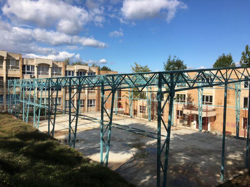 O nouă finanțare pentru terenul de sport al școlii Ion Pillat