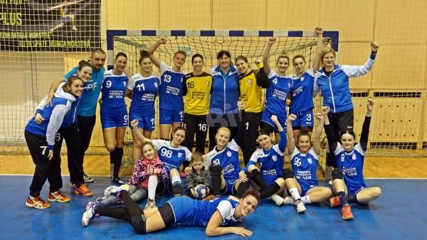 Victorie clară pentru handbalistele din Mioveni