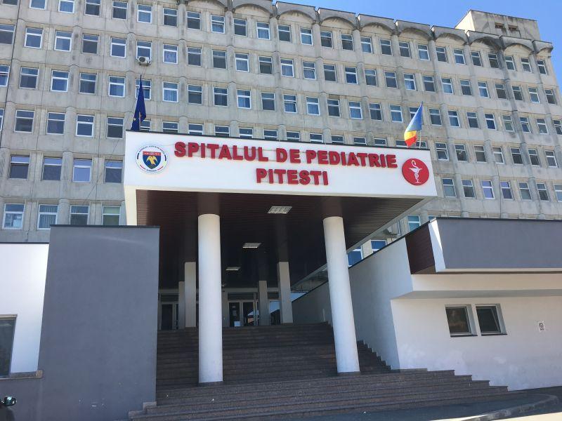 Spitalul de Pediatrie Pitești intră în renovare