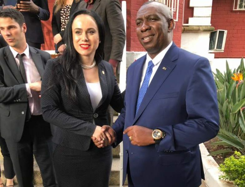 Deputat argeșean, întâlnire cu Prim-Ministrul Madagascarului