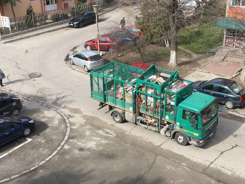 Programul de ridicare a deșeurilor reciclabile de la abonații casnici