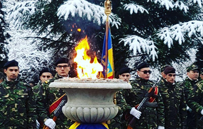 Flacăra Centenarului și omagierea eroilor Primului Război Mondial - la Domnești, Bogați și Mioveni
