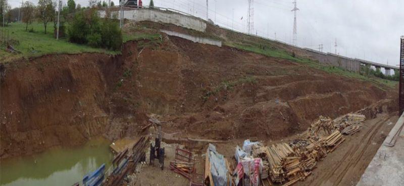 Alunecări de teren la Mioveni