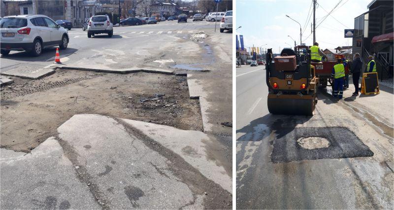 Au început asfaltările în tot Piteștiul