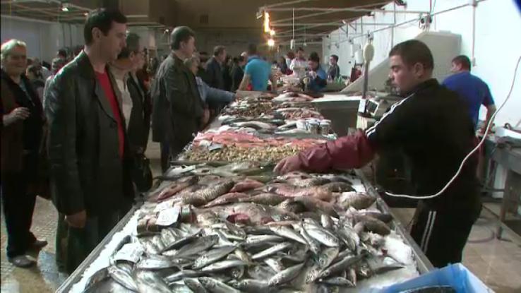 Comercianţi de peşte amendaţi