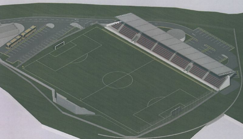 Mai multe firme din Italia, interesate de construcţia stadionului din Bascov