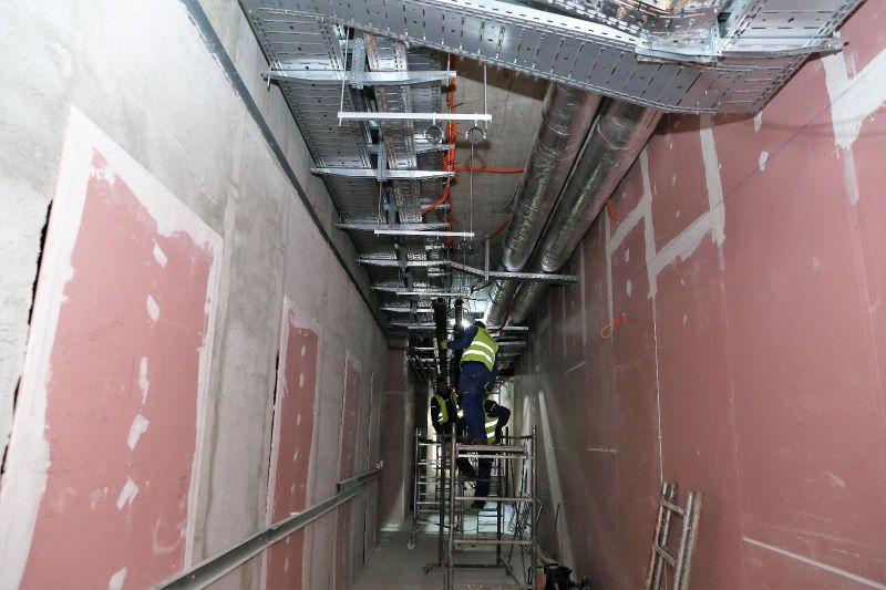 Lucrările la spitalul din Mioveni continuă