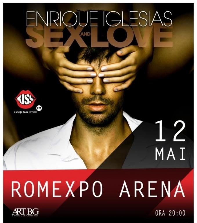 Doar câteva zile până la concertul ENRIQUE IGLESIAS de la Romexpo