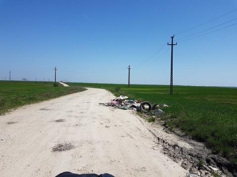 Drumul ruşinii în sudul judeţului
