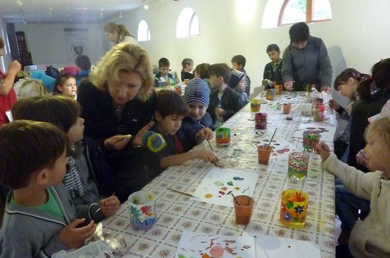 Ateliere de creație la Golești