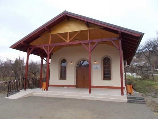 Capelă în comuna Priboieni