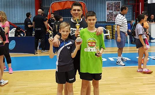 Pe podium la Zagreb