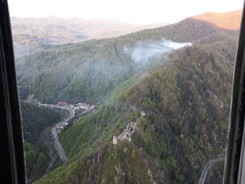 Incendiul de la Arefu - date oficiale