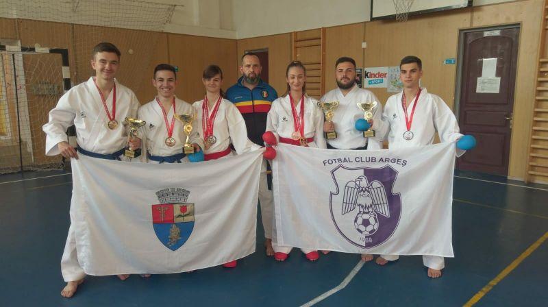 FC Argeş are patru campioni mondiali la karate!