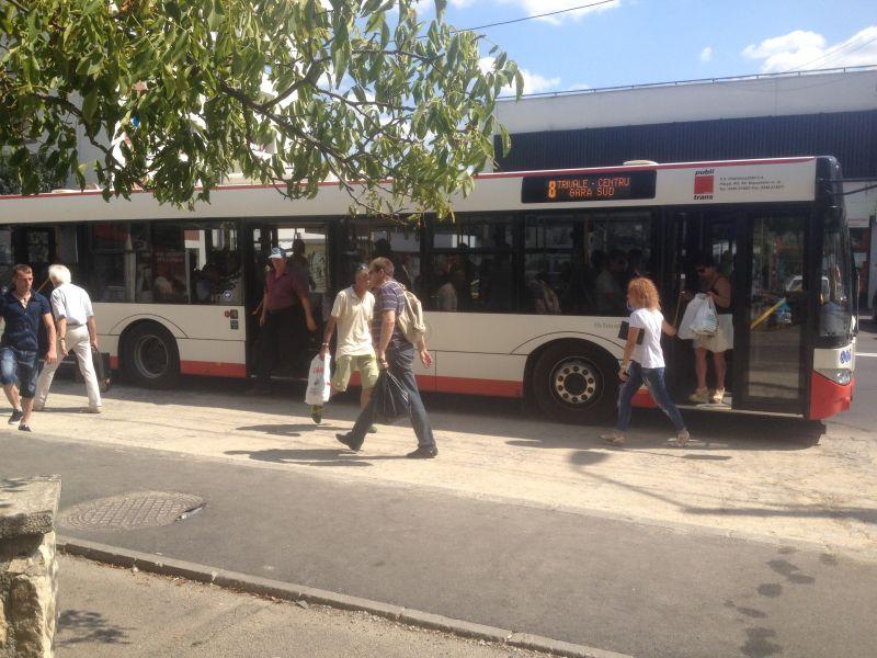 Program special de circulație a autobuzelor în minivacanța de 1 Mai