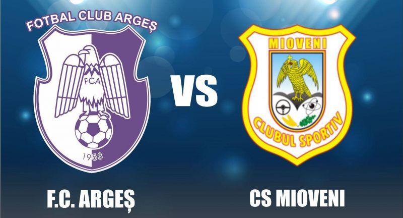 FC Argeş - CS Mioveni se joacă marţi, în nocturnă!