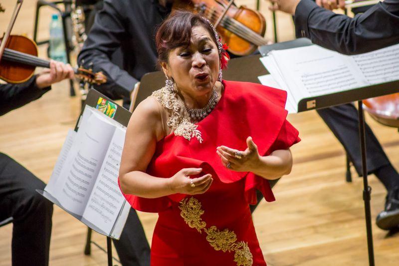 Soprană din Coreea de Sud la Filarmonica Piteşti