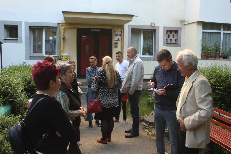 Consilierii ALDE Pitești au oferit audiențe în cartierul Găvana