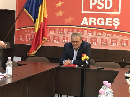 Primarul Ion Georgescu, mulţumit de stadiul lucrărilor la noul spital din Mioveni