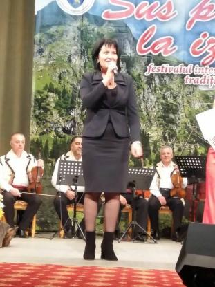Simona Brătulescu, la Poienarii de Muscel şi Călineşti