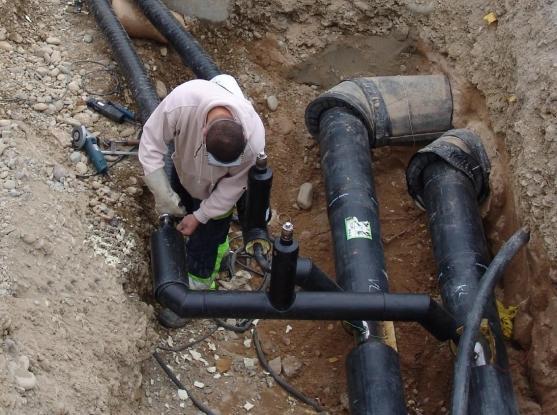 Transgaz a început construcţia gazoductului BRUA