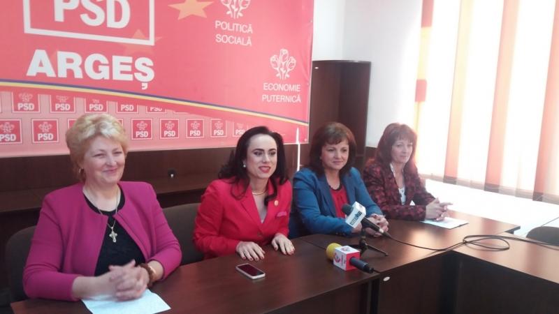 PSD Argeş aruncă în lupta electorală peste 300 de femei