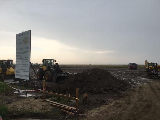 În Argeş au început lucrările la gazoductul BRUA