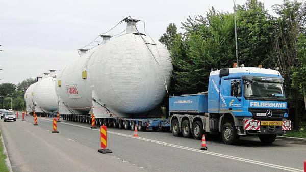 Transport de mare tonaj în Argeş