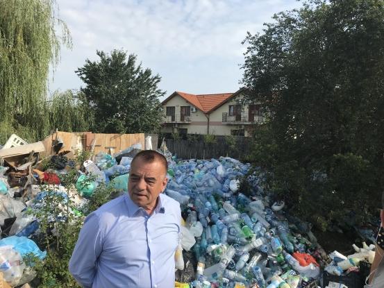 Primăria Piteşti, intervenţie în forţă pe strada Fundătura Nicolae Bălcescu