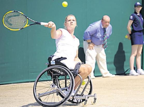Turneu de tenis pentru persoanele cu dizabilităţi în Argeş