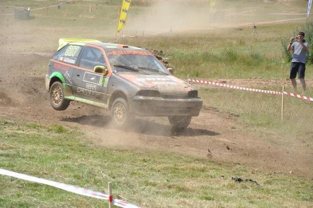 Competiţie automobilistică spectaculoasă în Muscel