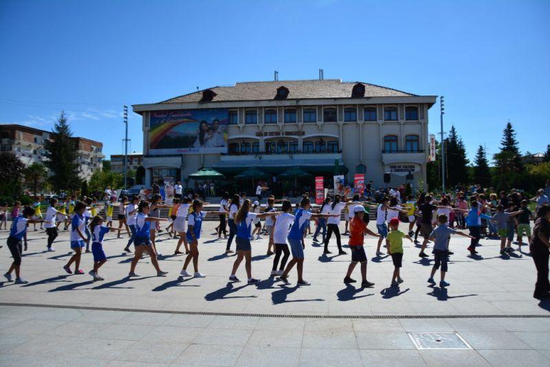 Mioveni:S-a dat startul la Săptămâna Europeană a Sportului