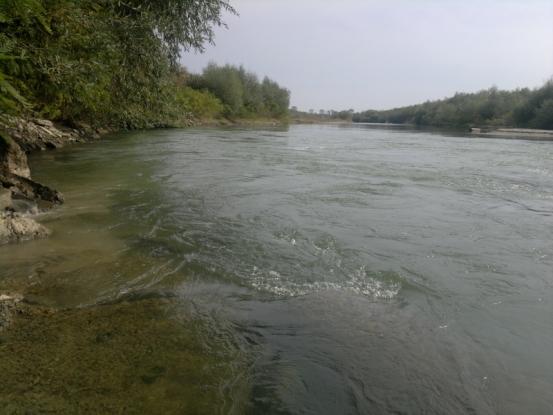 Lucrări hidrotehnice de urgenţă la Costeşti