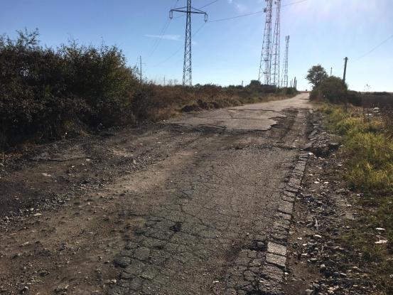 Drum de coşmar în Argeş. Localnicii sunt disperaţi