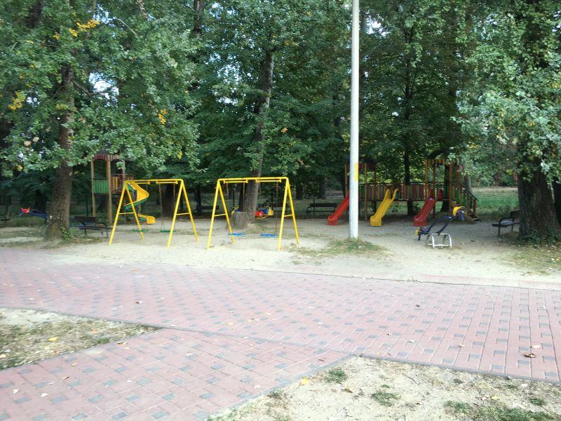Loc de joacă... preferenţial în parcul Ştrand