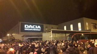 A crescut producţia de la Dacia