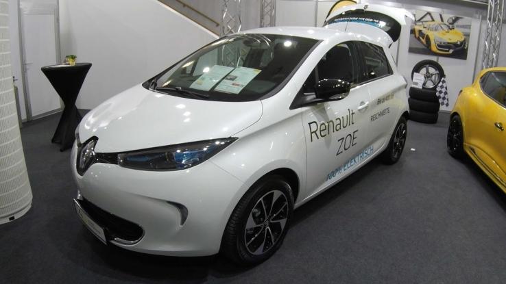 Maşină electrică la Primăria Mioveni