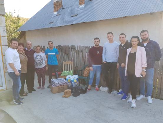 Acţiune umanitară a organizaţiei ALDE din Mioveni