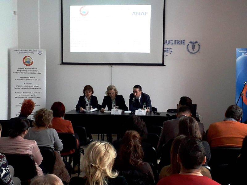 Oamenii de afaceri din Argeș, față în față cu șeful finanțelor