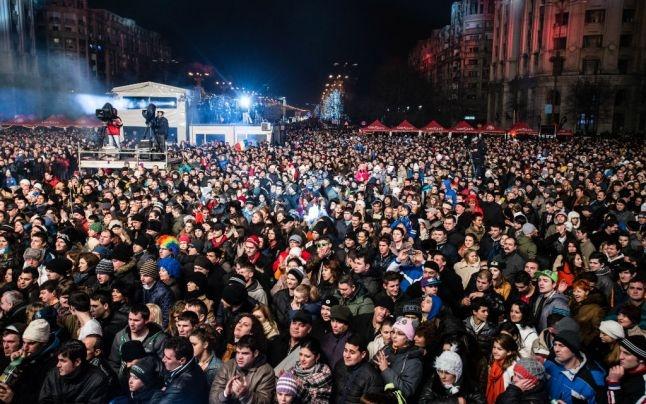 Concert în Piaţa Primăriei de Revelion