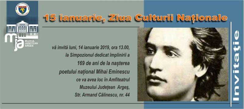 """Simpozion anual """"Mihai Eminescu"""" la Muzeul Judetean Arges"""