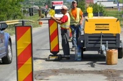 Lucrări importante la drumuri şi poduri din Argeş