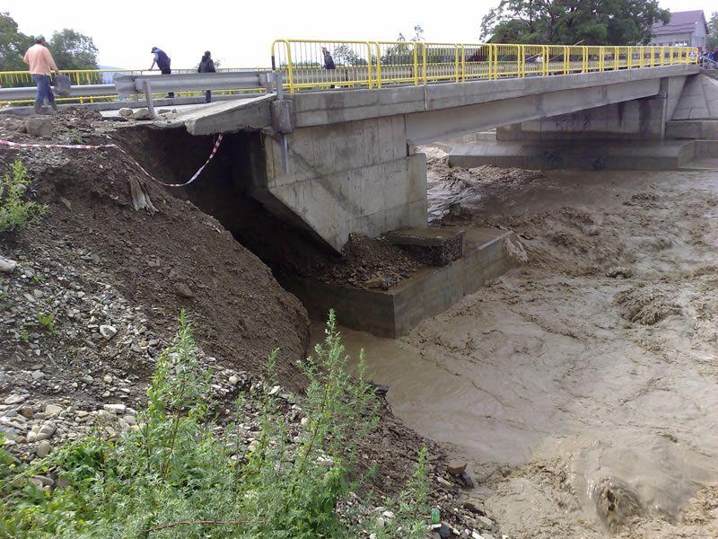 Argeşul a intrat sub cod galben de inundații