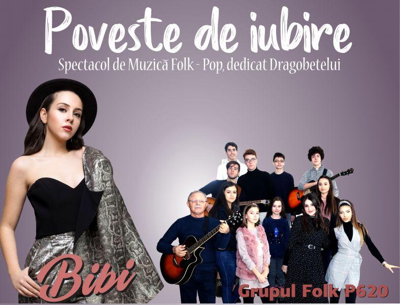 """""""Poveste de Iubire""""- spectacolul folk-pop dedicat Dragobetelui"""