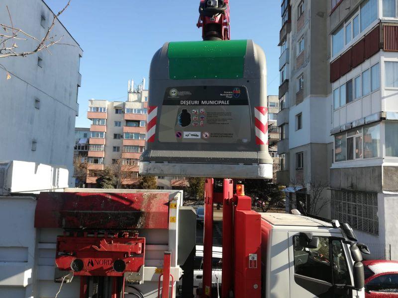 Au fost montate 30 de containere cu sistem special de etanșare