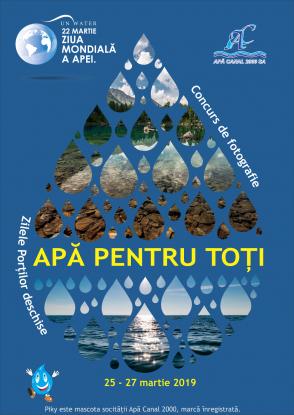 Societatea Apă Canal 2000 SA Piteşti aniverseazăZiua Mondială a Apei