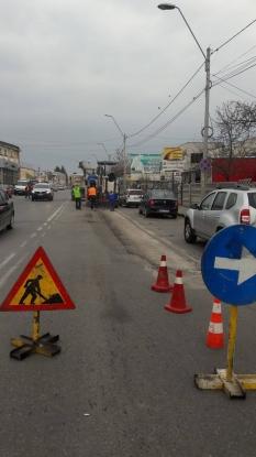 Lucrări de reparaţii pe strada Calea Depozitelor. Ocoliţi zona!