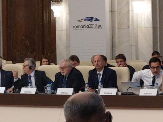 Robert Tudorache, la reuniunea ministerială a Iniţiativei de Cooperare Regională în Centrul şi Sud-Estul Europei