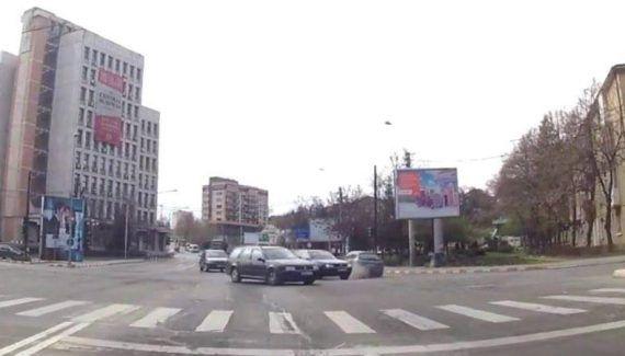 A început asfaltarea noilor benzi de circulaţie de pe străzile Maior Şonţu şi CA Rosetti